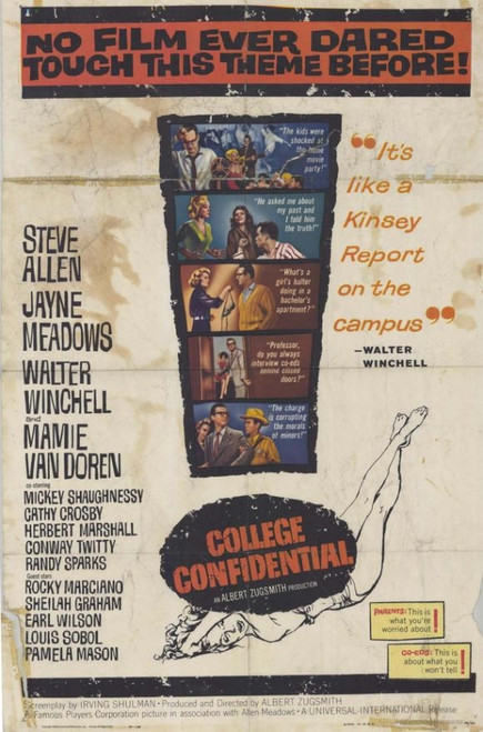 College Confidential Movie Poster Print (27 x 40) - Item # MOVAH8089