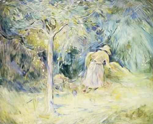 Les Foins a Mezy Poster Print by Berthe Morisot - Item # VARPDX282569