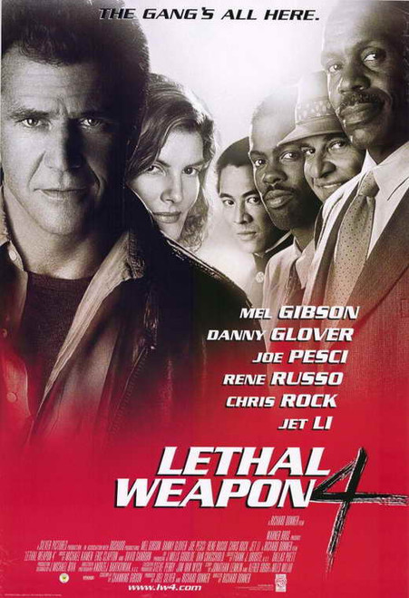 Lethal Weapon 4 Movie Poster (11 x 17) - Item # MOVID8927