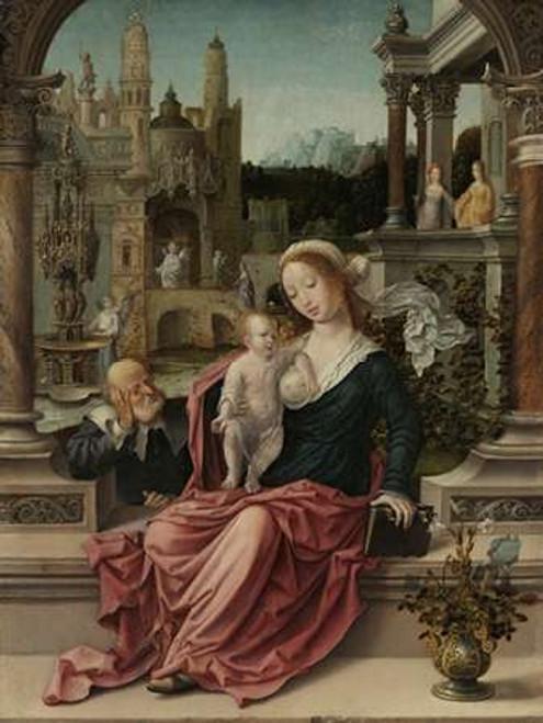 The Holy Family Poster Print by Jan Gossaert - Item # VARPDX456155