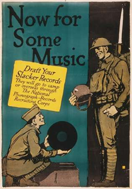 Now for Some Music, 1917 Poster Print by Charles Buckles Falls - Item # VARPDX467766