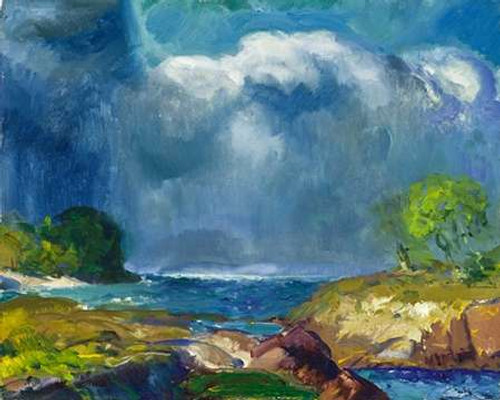 The Coming Storm Poster Print by George Bellows - Item # VARPDX463173
