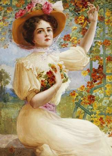A Summer Beauty Poster Print by Emile Vernon - Item # VARPDX267524