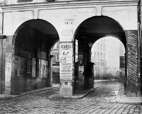 Paris, about 1865 - The Double Doorway, rue de la Ferronnerie Poster Print by Charles Marville - Item # VARPDX455102