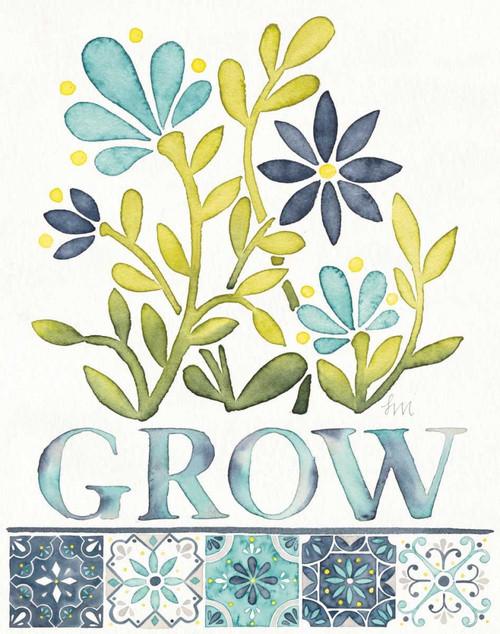 Garden Getaway Inspiration IV Poster Print by Laura Marshall - Item # VARPDX34448HR