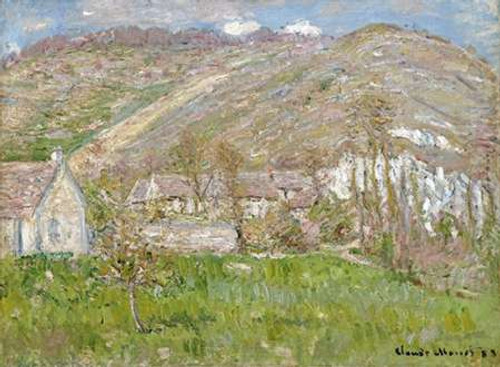 The Hamlet of Falaise, near Giverny, 1883 Poster Print by Claude Monet - Item # VARPDX265203