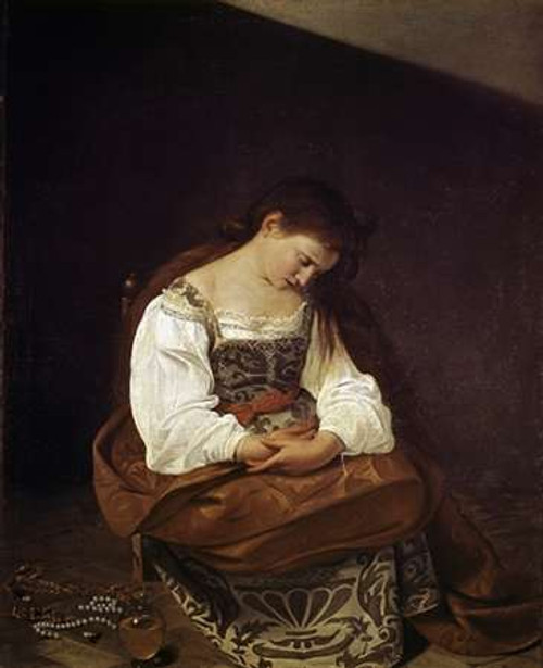 The Repentant Magdalene Poster Print by Caravaggio - Item # VARPDX281827