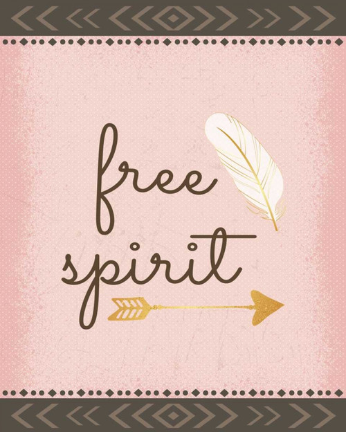 Free Spirit Poster Print by ND Art and Design - Item # VARPDXND1511