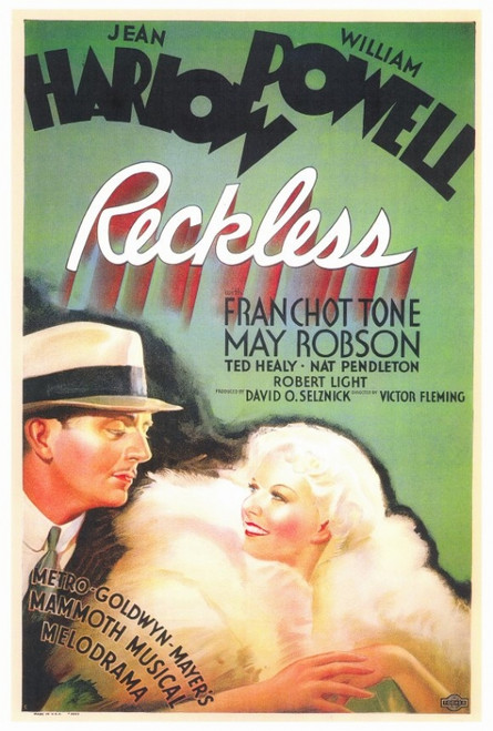 Reckless Movie Poster Print (27 x 40) - Item # MOVEF5176
