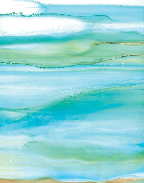 Coastal Abstract I Poster Print by Carol Robinson - Item # VARPDX18864