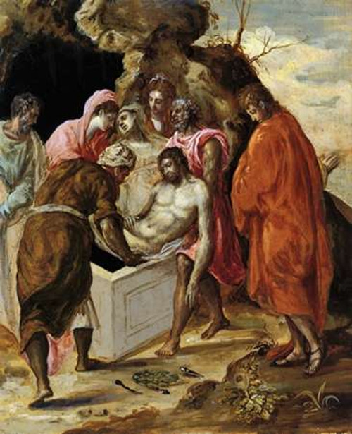 The Entombment Of Museumist Poster Print by El Greco - Item # VARPDX372940