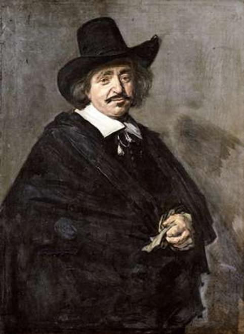 Portrait of a Gentleman Poster Print by Frans Hals - Item # VARPDX268042