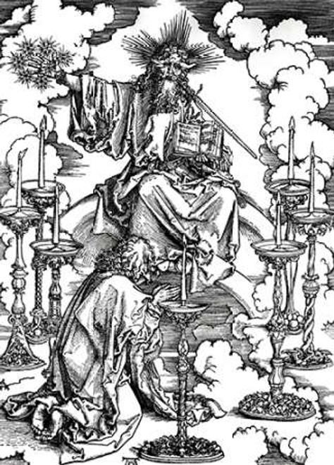 Vision of the Seven Candlesticks Poster Print by Albrecht Durer - Item # VARPDX281999