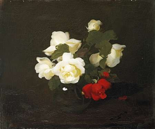 Yellow and Red Roses Poster Print by James Stuart Park - Item # VARPDX266983