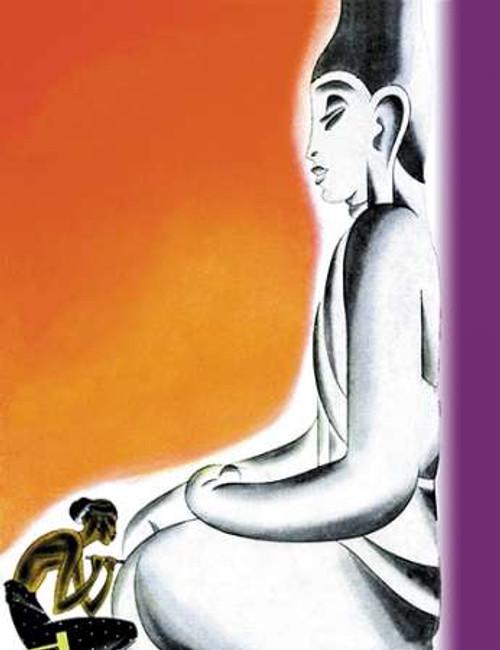 Burmese Sculptor at the knees of Buddha, 1933 Poster Print by Frank McIntosh - Item # VARPDX342090