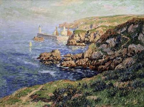 Port Judy, Ile de Graix, Morbihan Poster Print by Henry Moret - Item # VARPDX282564
