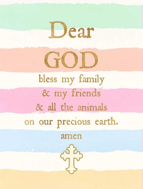 Dear God Poster Print by Bella Dos Santos - Item # VARPDX907DOS1748