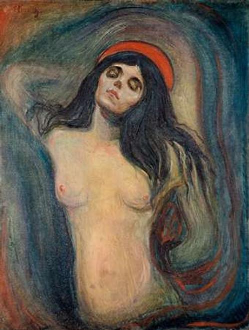 Madonna, 1894 Poster Print by Edvard Munch - Item # VARPDX467691