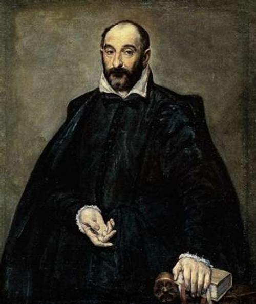 Portrait Of A Man Poster Print by El Greco - Item # VARPDX372924