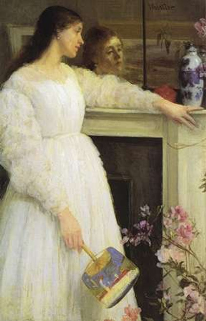 Girl In White Poster Print by James McNeill Whistler - Item # VARPDX374756
