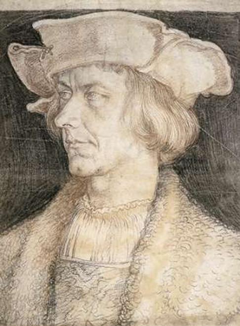 Portrait Of A Man Poster Print by Albrecht Durer - Item # VARPDX372814