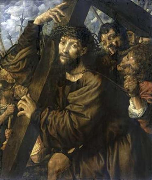 Museumist Bearing The Cross Poster Print by Jan Sanders Van Hemessen - Item # VARPDX277951