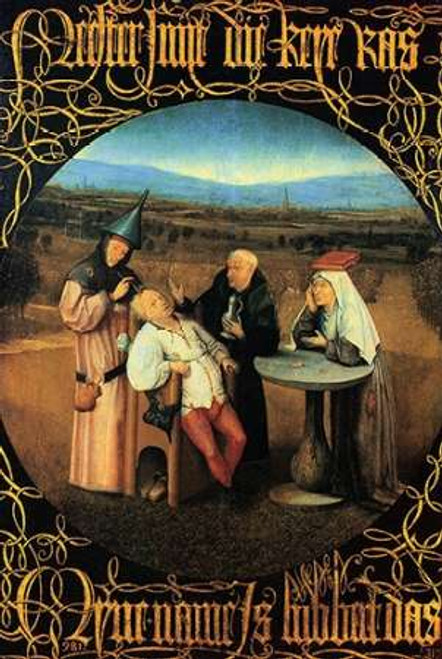 The Cure Of Folly Poster Print by Hieronymus Bosch - Item # VARPDX372612