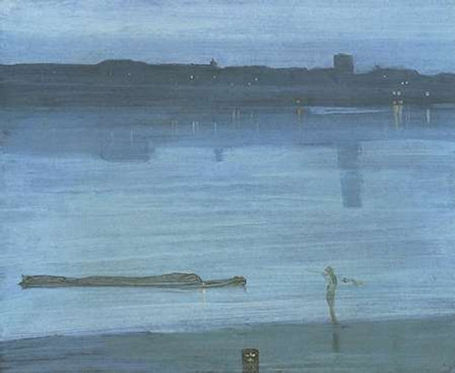 Nocturne Blue And Silver Chelsea Poster Print by James McNeill Whistler - Item # VARPDX374775
