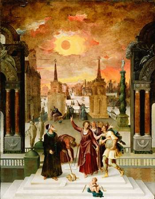 Dionysius the Areopagite Converting the Pagan Philosophers Poster Print by Antoine Caron - Item # VARPDX459873