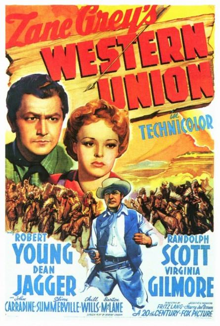 Western Union Movie Poster Print (27 x 40) - Item # MOVEF5327