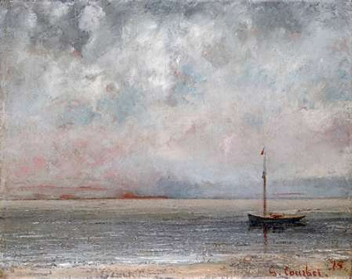 Clouds On Lake Leman Poster Print by Gustave Courbet - Item # VARPDX264747