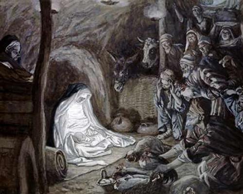 Adoration of the Shepherds Poster Print by James Tissot - Item # VARPDX282883