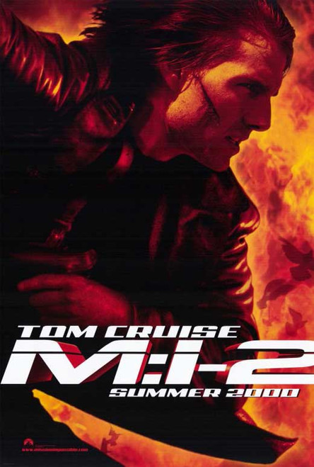 Mission Impossible 2 Movie Poster (11 x 17) - Item # MOVGE6954