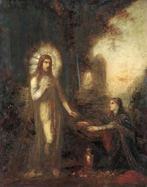 Museumist and Mary Magdalene Poster Print by Gustave Moreau - Item # VARPDX265285
