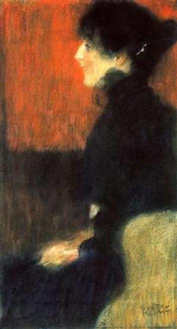 Portrait Of A Lady 1898 Poster Print by Gustav Klimt - Item # VARPDX373376