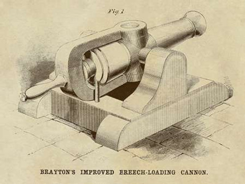 Braytons Improved Breech-loading Cannon Poster Print by Inventions - Item # VARPDX376308