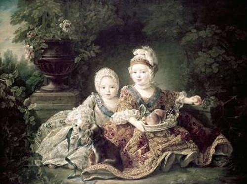Duc De Berry and Count De Provence As Children Poster Print by Francois Huber Drouais - Item # VARPDX277436