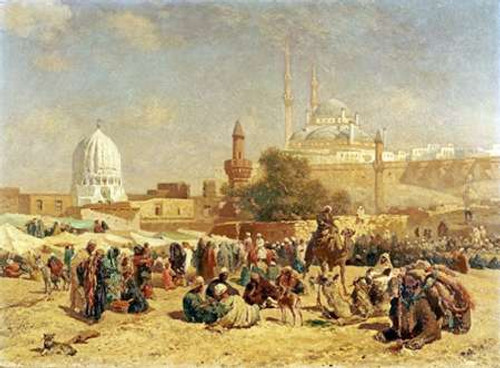 Outside Cairo Poster Print by Cesare Biseo - Item # VARPDX267743