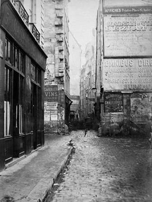 Paris, 1860-1870 - Rue Tirechappe Poster Print by Charles Marville - Item # VARPDX455099
