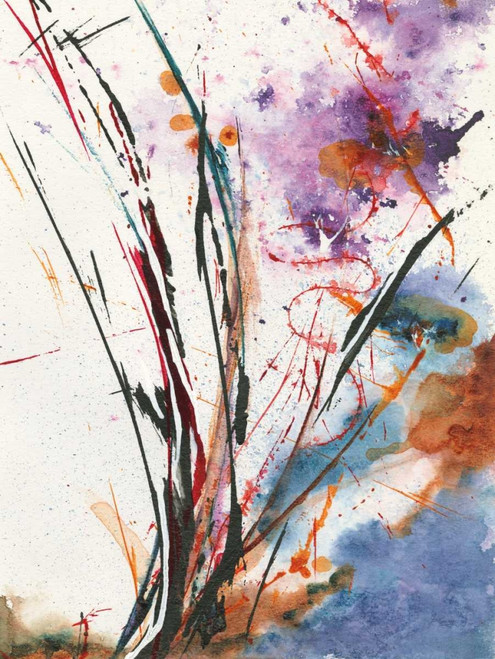 Floral Explosion IV Poster Print by Jan Griggs - Item # VARPDX35371