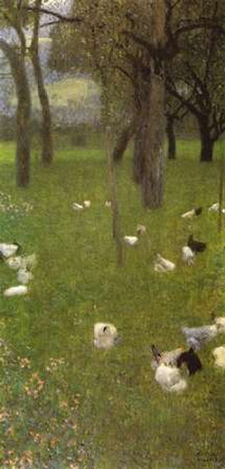 After The Rain 1899 Poster Print by Gustav Klimt - Item # VARPDX373304