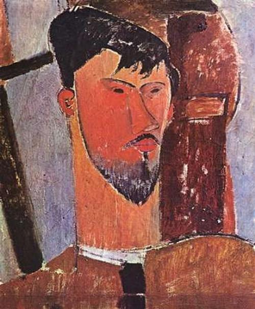 Henri Laurens Poster Print by Amedeo Modigliani - Item # VARPDX373660