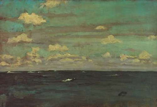 Violet And Silver A Deep Sea 1893 Poster Print by James McNeill Whistler - Item # VARPDX374827
