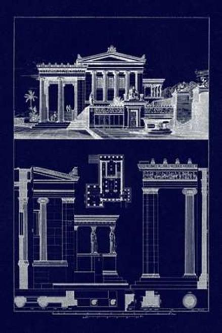 The Erechtheum at Athens Poster Print by J. Buhlmann - Item # VARPDX394696