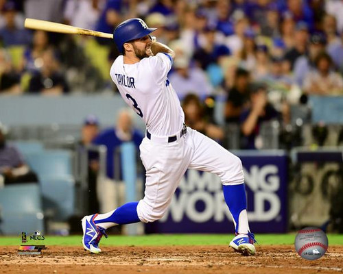 Chris Taylor Home Run Game 1 of the 2017 National League Championship Series Photo Print - Item # VARPFSAAUP193