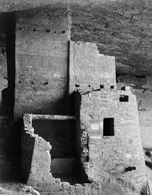Close-up, Cliff Palace, Mesa Verde National Park, Colorado, 1941 Poster Print by Ansel Adams - Item # VARPDX460816