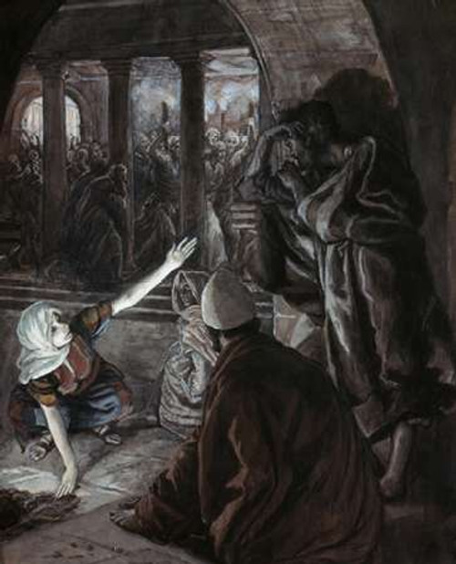 Lord Looked Upon Peter Poster Print by James Tissot - Item # VARPDX280404