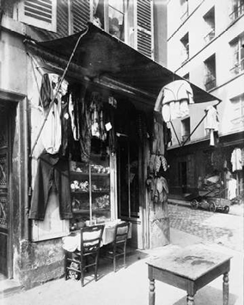 Paris, 1911 - Costume Shop, rue de la Corderie Poster Print by Eugene Atget - Item # VARPDX455091