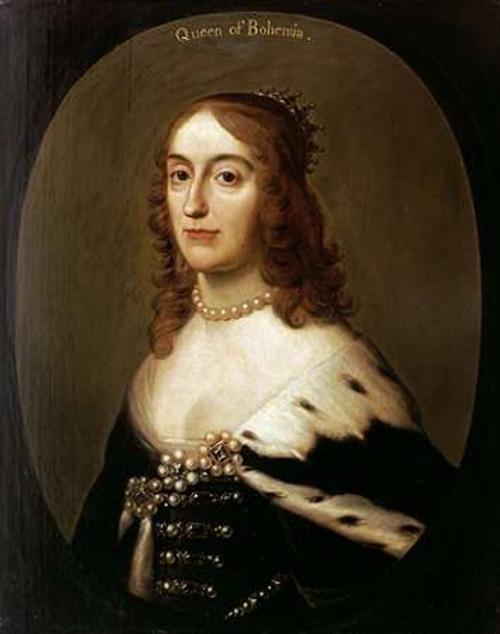Portrait of Elizabeth, Queen of Bohemia Poster Print by Gerrit Van Honthorst - Item # VARPDX265754