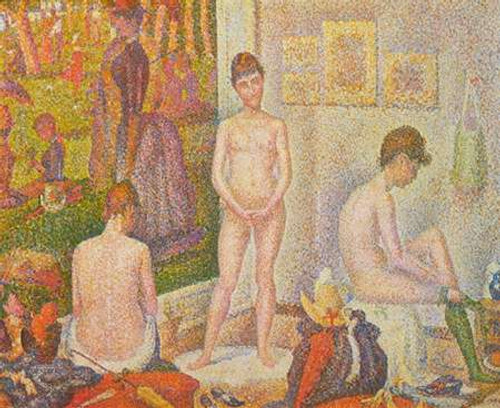 The Models Poster Print by Georges Seurat - Item # VARPDX374411